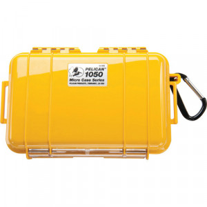 Pelican 1050 Solid Micro Case (Yellow)