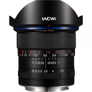 Venus Optics Laowa 12mm f/2.8 Zero-D Lens for Canon EF (Black)