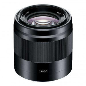 Sony 50mm f/1.8 AF E-Mount Lens (Black)