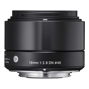 Sigma 19mm f/2.8 DN Lens for Sony E Mount Micro 4/3's (Black)