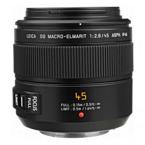 Panasonic 45mm f/2.8 Leica DG Macro-Elmarit Aspherical Mega O.I.S. Lens