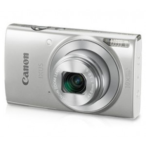 Canon IXUS 190 20 MP Digital Camera with 10x Optical Zoom(Silver)
