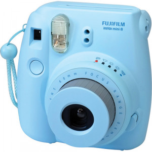 Fujifilm instax mini 8 Instant Film Camera (Blue) +10 films free