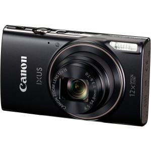 Canon IXUS 185 20MP Digital Camera with 8X Optical Zoom(Black)