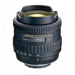 Tokina AF FX 10-17mm f/3.5-4.5 Fisheye Zoom - Canon Mount
