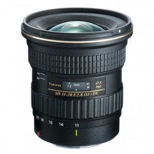 Tokina AT-X 11-20mm f/2.8 PRO DX Lens - Canon EF Mount