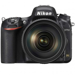 Nikon D750 Digital SLR Camera with NIKKOR 24-120mm f/4.0G Lens
