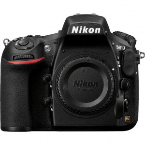 Nikon D810 Digital SLR Camera Body with 64 GB Sandisk memory card.