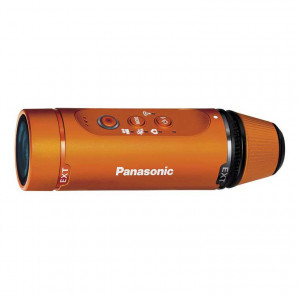 Panasonic HX-A1 Wearable HD Action Cam (Orange)
