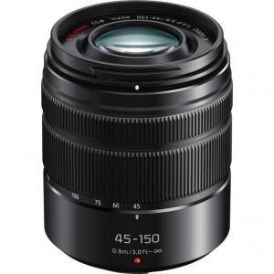 Panasonic Lumix G Vario 45-150mm f/4-5.6 ASPH. MEGA O.I.S. Lens (Black)