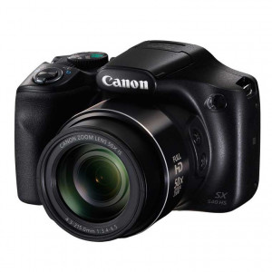 Canon PowerShot SX540 HS Digital Camera (Black)