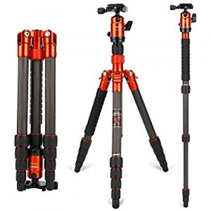 Fotopro X-GO Chameleon with FPH-52Q Ball Head (Orange)