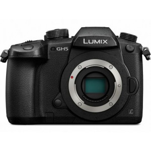Panasonic Lumix DC-GH5 4K Mirrorless ILC Micro Four Thirds Digital Camera with Leica 12-60mm f2.8-4.0 Lens