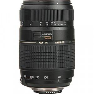 Tamron 70-300mm f/4-5.6 Di LD Macro Autofocus Lens for Nikon AF