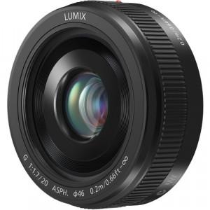 Panasonic Lumix G 20mm f/1.7 II ASPH. Lens (Black)