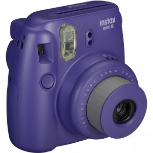 Fujifilm instax mini 8 Instant Film Camera (Grape) +10 films free