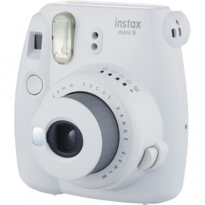 Fujifilm Instax mini 9 Instant Film Camera (Smoky white)