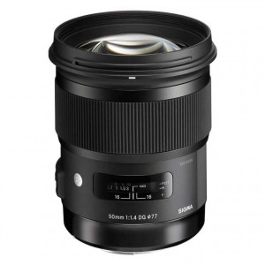 Sigma 50mm f/1.4 DG HSM Lens for Canon EF