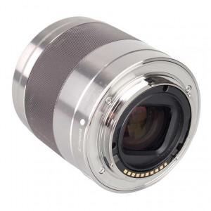 Sony 50mm f/1.8 AF E-Mount Lens (Silver)