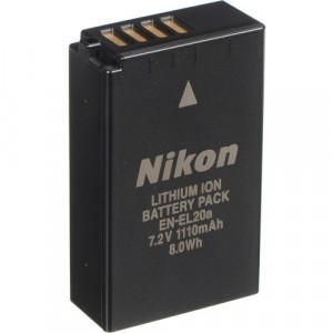 Nikon EN-EL20a Rechargeable Lithium-Ion Battery Pack