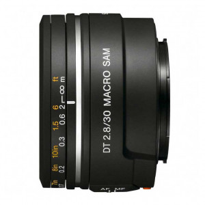 Sony 30mm f/2.8 DT AF Macro Lens for Alpha & Minolta Digital SLRs