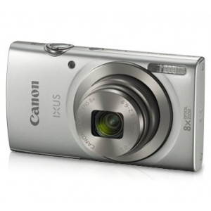 Canon IXUS 185 20MP Digital Camera with 8X Optical Zoom(Silver)