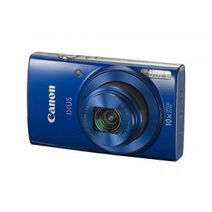 Canon IXUS 190 20 MP Digital Camera with 10x Optical Zoom(Blue)