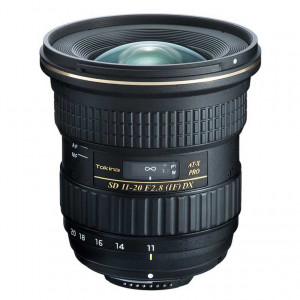 Tokina AT-X 11-20mm f/2.8 PRO DX Lens - Nikon F Mount
