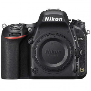 Nikon D750 Digital SLR Camera Body with low pro BP150 bag.