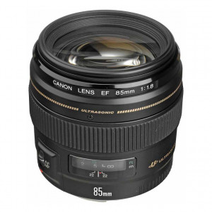 Canon EF 85mm f/1.8 USM Autofocus Lens