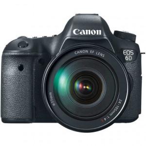 Canon EOS 6D Digital SLR Camera with 24-105mm f/4.0L IS II USM AF Lens