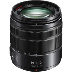 Panasonic Lumix G Vario 14-140mm f/3.5-5.6 ASPH. POWER O.I.S. Lens (Black)