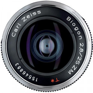 Carl zeiss Biogon T* 25mm f/2.8 ZM Lens (Black) (Demo Discount) + zeiss uv filter free