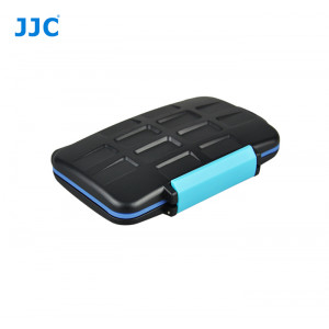 JJC MC-2 Memory Card Case Fits 4 x CF & 8 x SD Cards