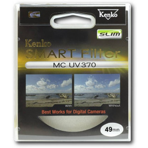 Kenko 49 MM Smart Filter MC UV370 Slim Filter