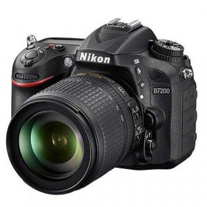 Nikon D7200 Digital SLR Camera Body with 18-105mm Lens