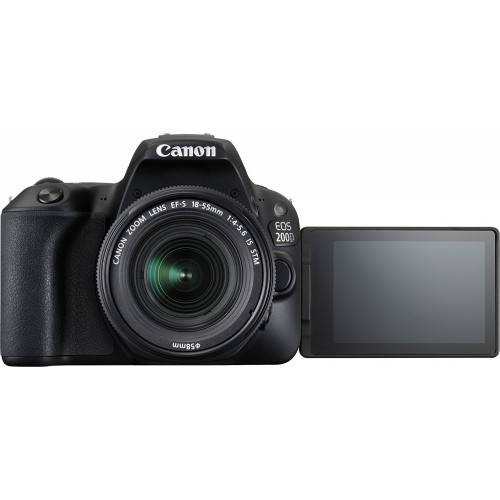 Canon EOS 200D DSLR Camera with 18-55mm and 55-250mm Lenses Kit